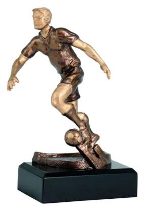 Soccer Player Statuette