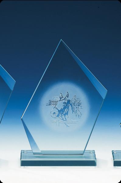 Keystone Elegant Glass Statuette
