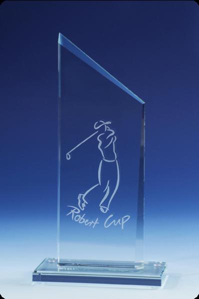 Trapezoid Plaque Trophy