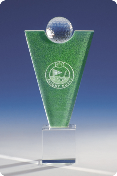 Inverted Pyramid Sports Trophy