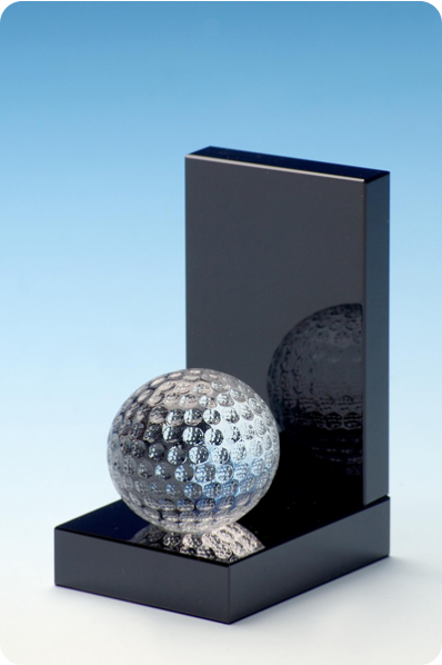 Golf Ball Statuette