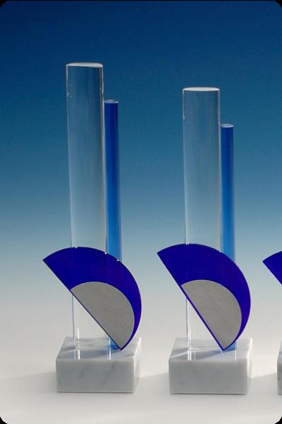 Glass Pillars Statuette