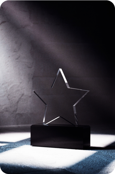 Star Crystal Statuette