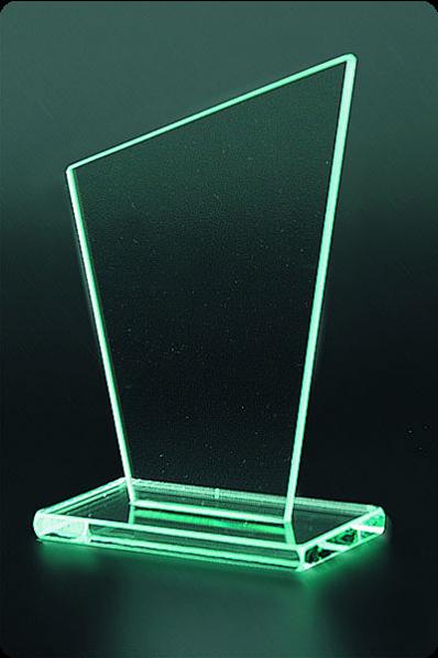 The Sail glass statuette
