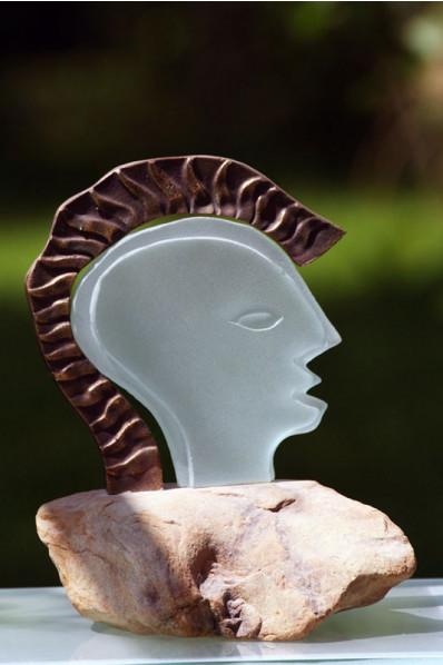 Head of a Roman Statuette