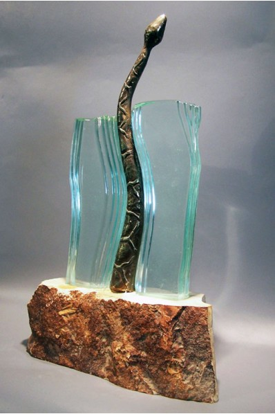 The Snake Statuette