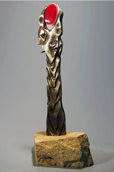 Topaz Statuette