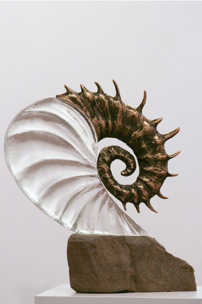 """Spiral"" glass"