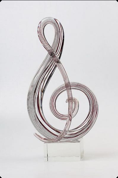 Glass Clef Key Award