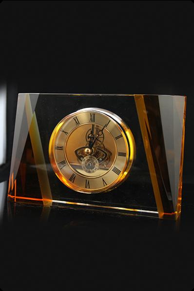 Massive Crystal Mechanical Clock