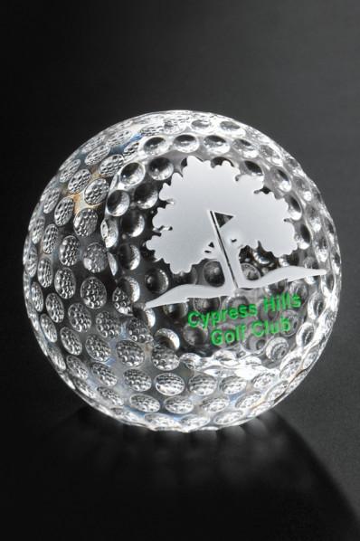 Paperweight golf ball