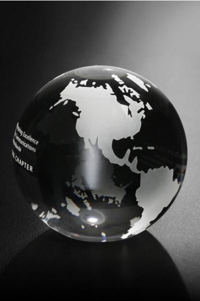 Paperweight globe
