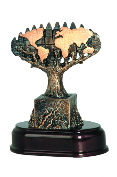 Stylized Tree Resin Award