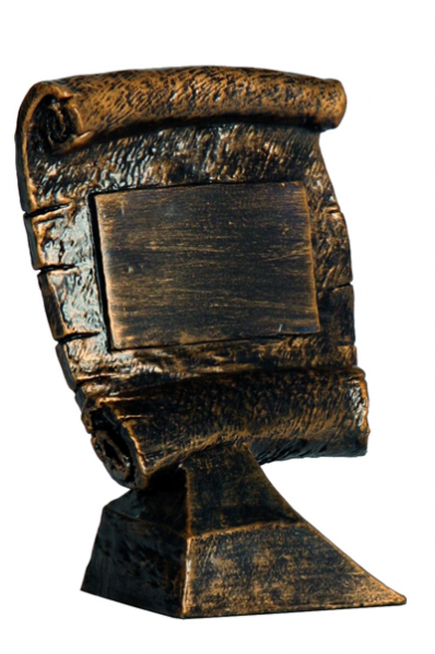 Medieval Scroll Resin Award