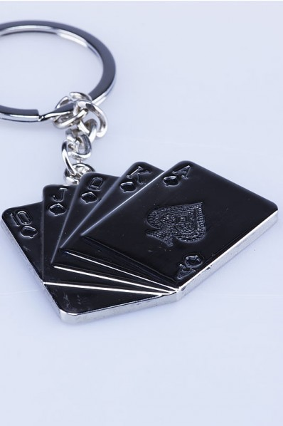 Playing Cards Keychain