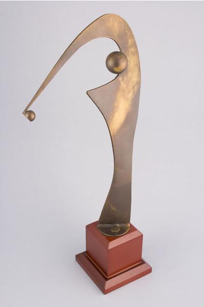 The Golfer Statuette
