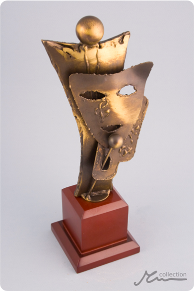 The Actor Mask Statuette