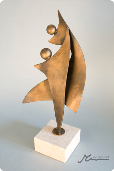 Pirouette Dancing Couple Trophy