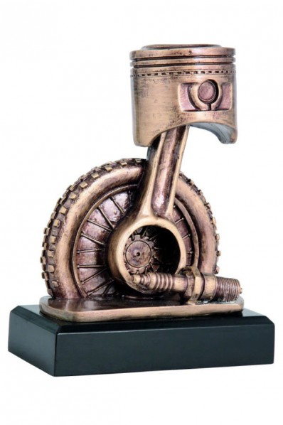 Engine Piston Statuette