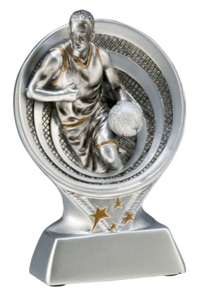 Abstract Basketball Resin Award