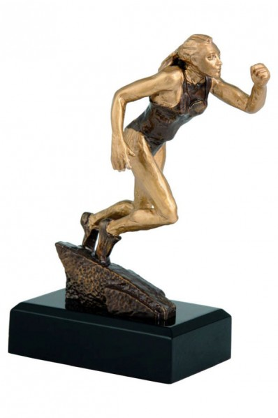 Running Female Trophy