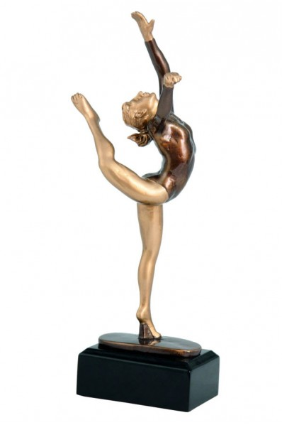Gymnast Statuette