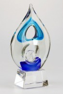 Blue/Green Flame Award Statuette