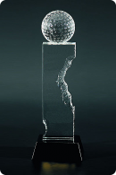 The Golf Ball 2 statuette