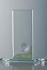 Ball Glass Plaque Award