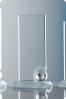 Crystal Plaque Statuette with Ball