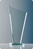 Trapezoid Glass Plaque