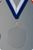 Glass Circular Medal