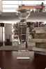 Pedestal Crystal Statuette with Diamond