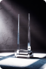 Tapered Crystal Statuette