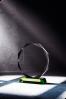 Octagon Crystal Plque