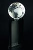 The Globe glass trophy