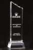 Rugged Edge Slender Crystal Statuette