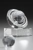 Glass Globe Statuette