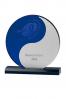 Depp Blue Round Plaque 2