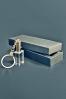 Crystal Cube Keychain