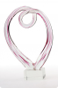 Abstract Glass Swirl Trophy