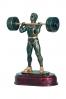 Weightlifter Statuette