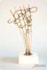 Golden Music Notes Trophy
