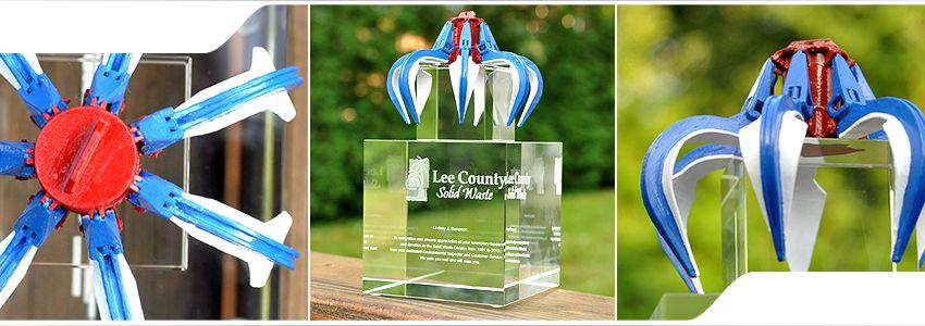 Glass awards | Crystal trophies | Custom awards, 3D crystal