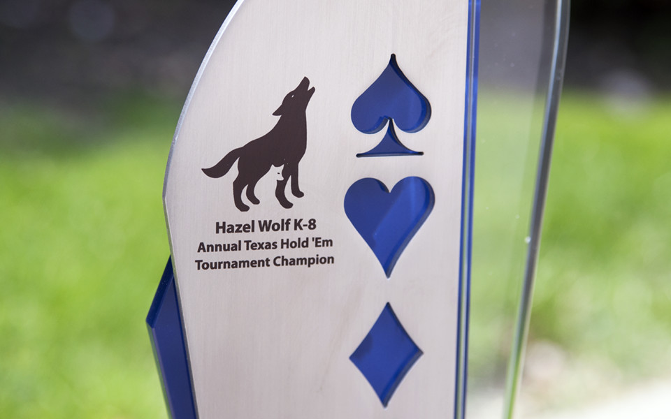 Poker Custom Award