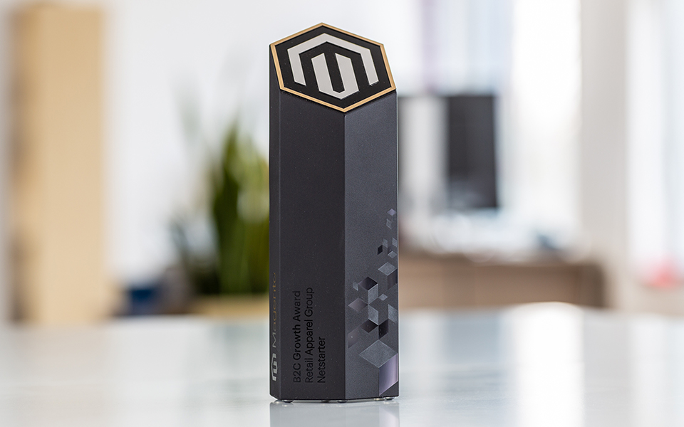 Hexagon Tower Custom Award