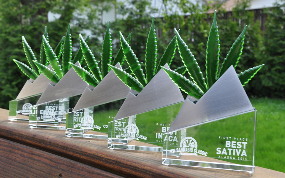 Custom Glass & Metal Awards