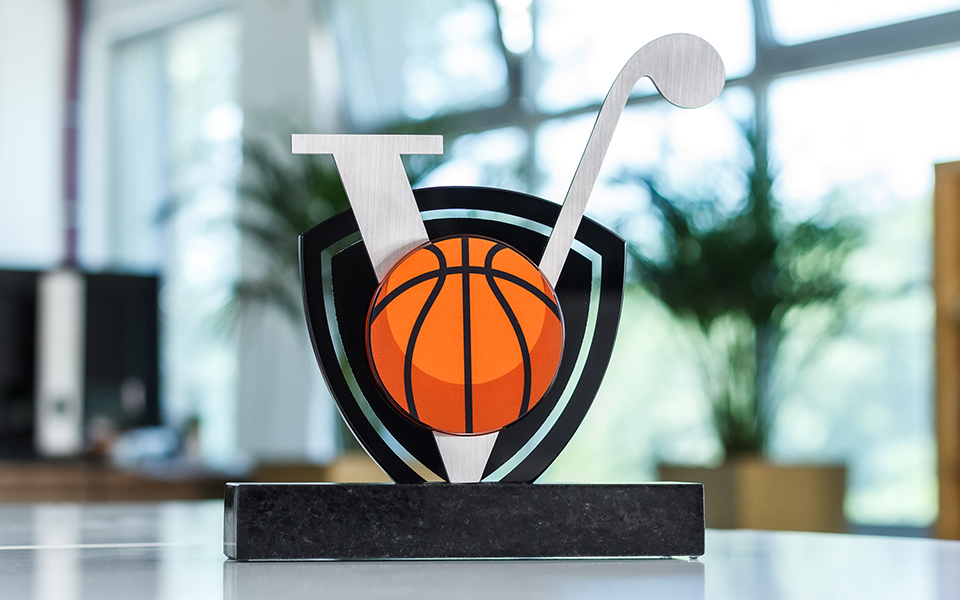 Glass & Metal Basketball Award