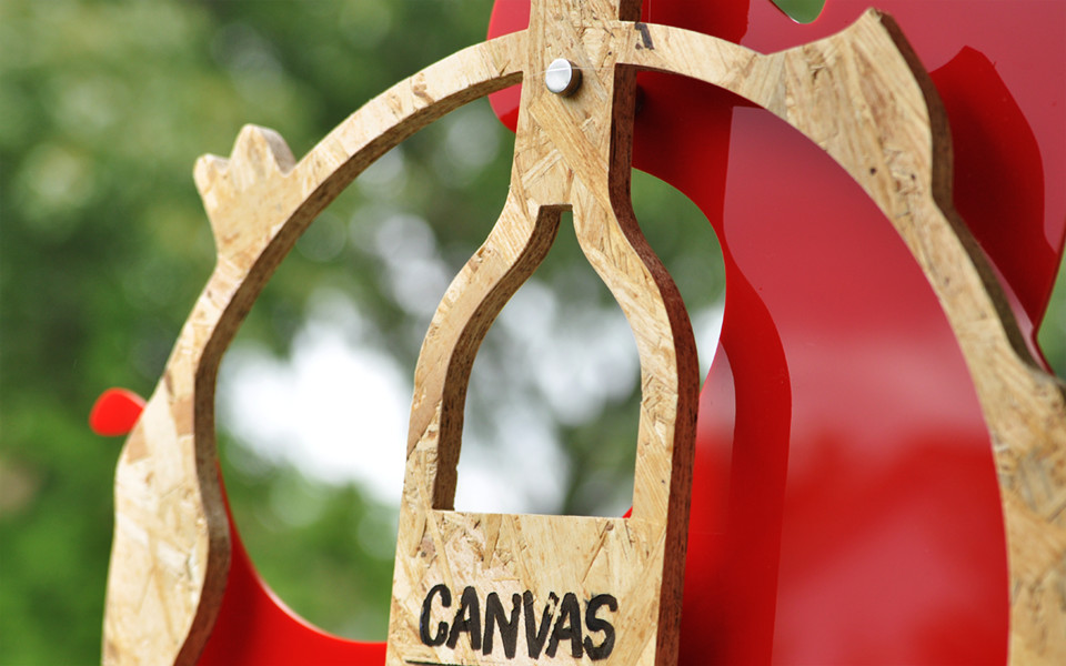 Wood/Acrylic Custom Award