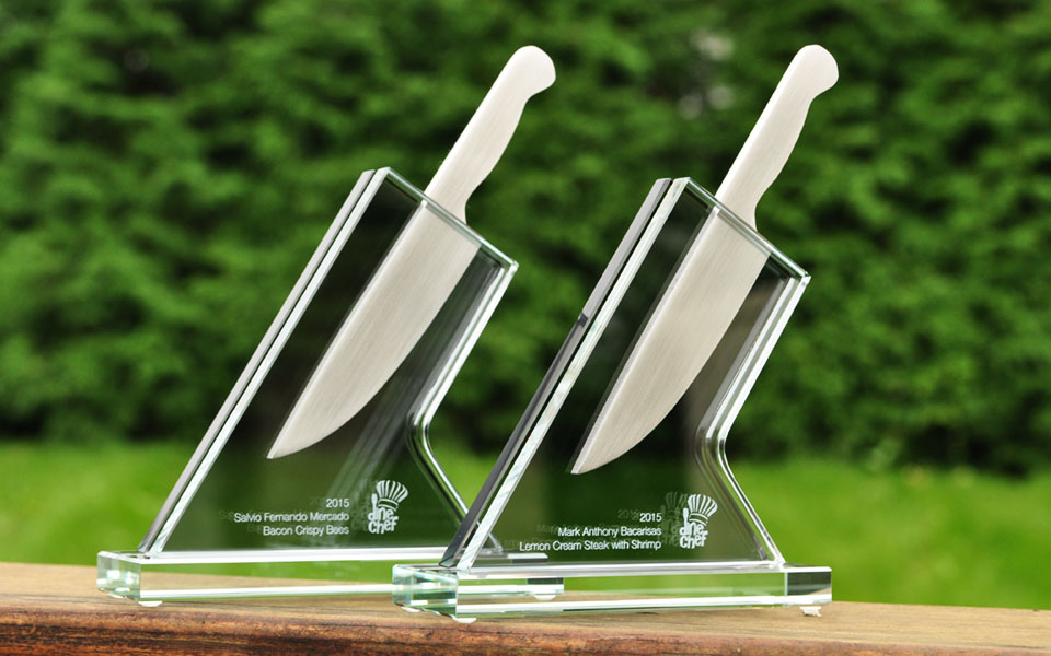 Dine Chef Glass/Metal Awards